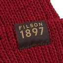 Filson - Watch Cap Ribbed Wool Beanie - Burgundy