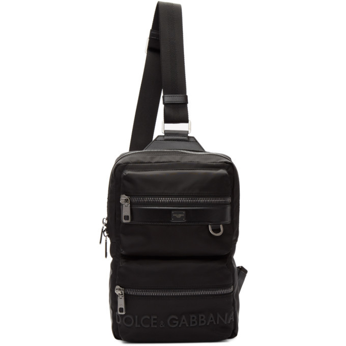 Photo: Dolce and Gabbana Black Sicilia DNA Backpack