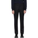 Giorgio Armani Navy Wool Trousers