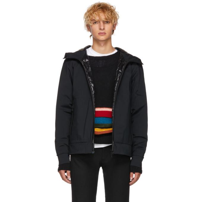 Photo: Moncler Black Down Belloy Jacket