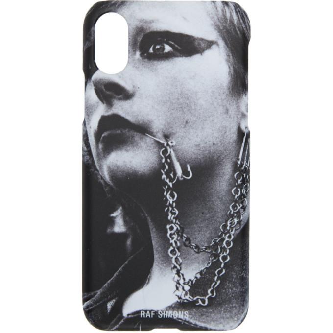 Photo: Raf Simons White iPhone X Case