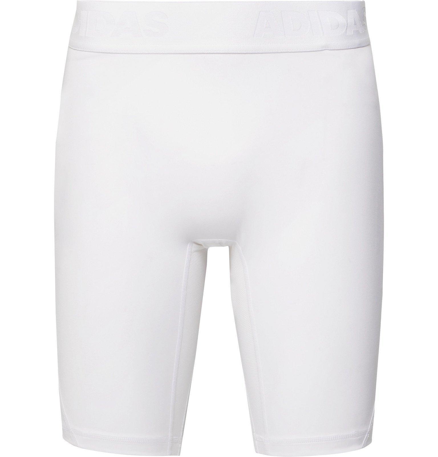 Photo: Adidas Sport - Alphaskin Compression Shorts - White
