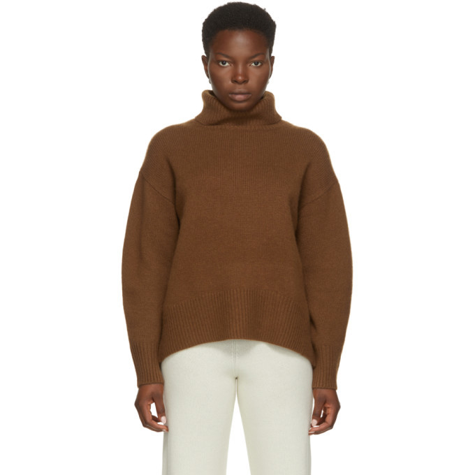Photo: arch4 Brown Cashmere Worlds End Turtleneck