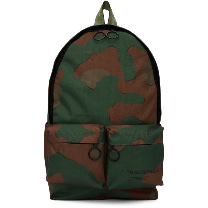 Photo: Off-White Green Camo Backpack
