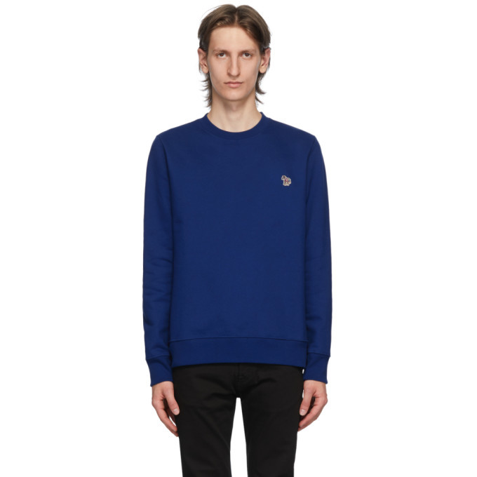 Photo: PS by Paul Smith Blue Zebra Sweatshirt