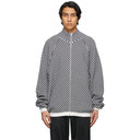Raf Simons Black and White SS00 Oversized Knit Cardigan