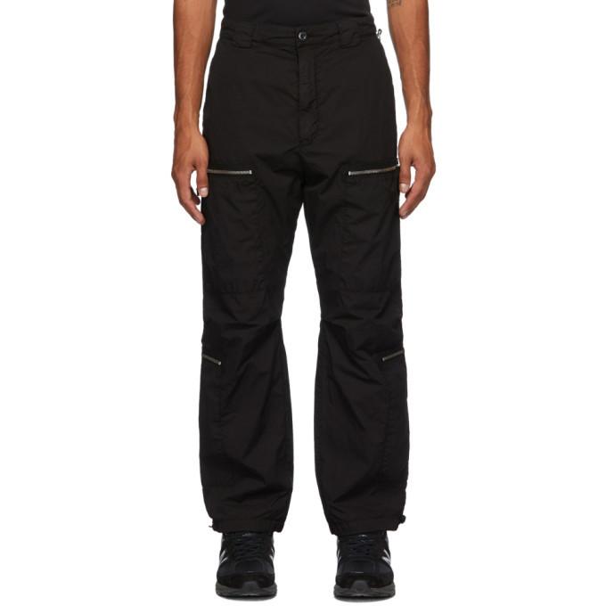Photo: C.P. Company Black Taffeta Cargo Pants