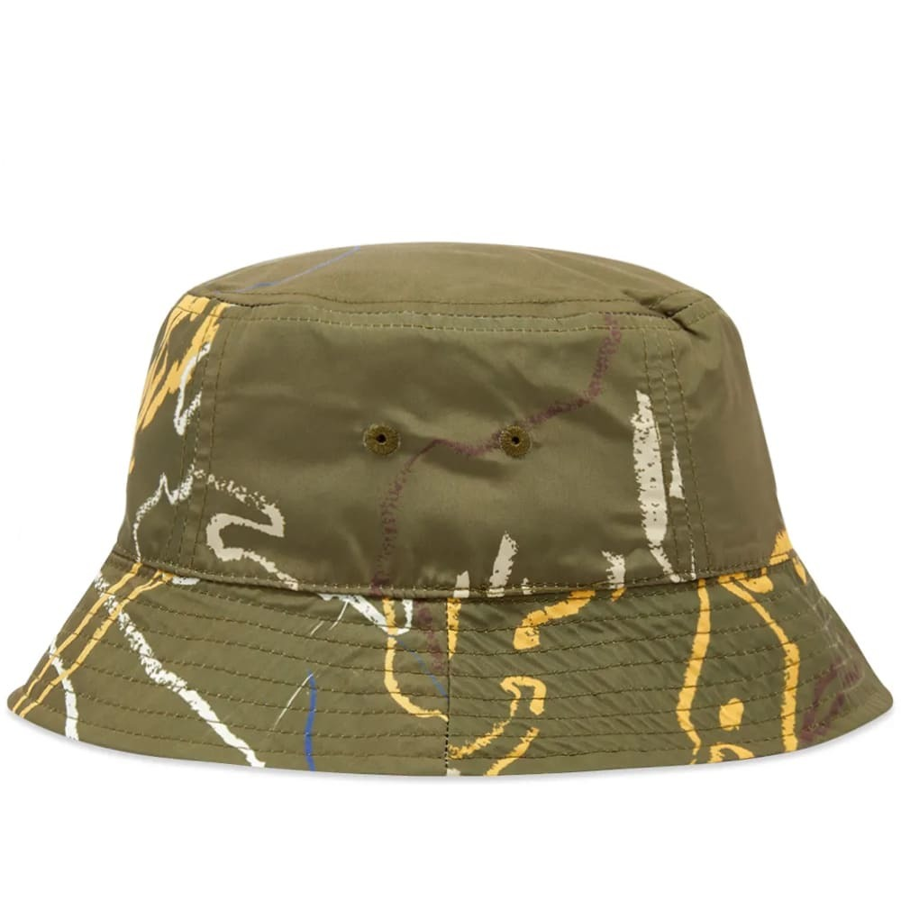 Photo: Wood Wood All Over Print Bucket Hat