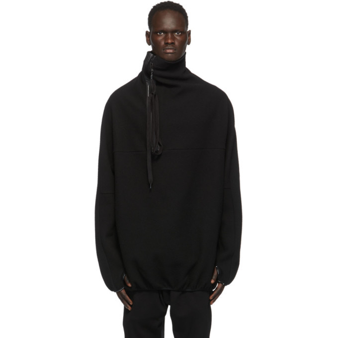Photo: Julius Black NILoS Pop-Over Half-Zip Sweatshirt
