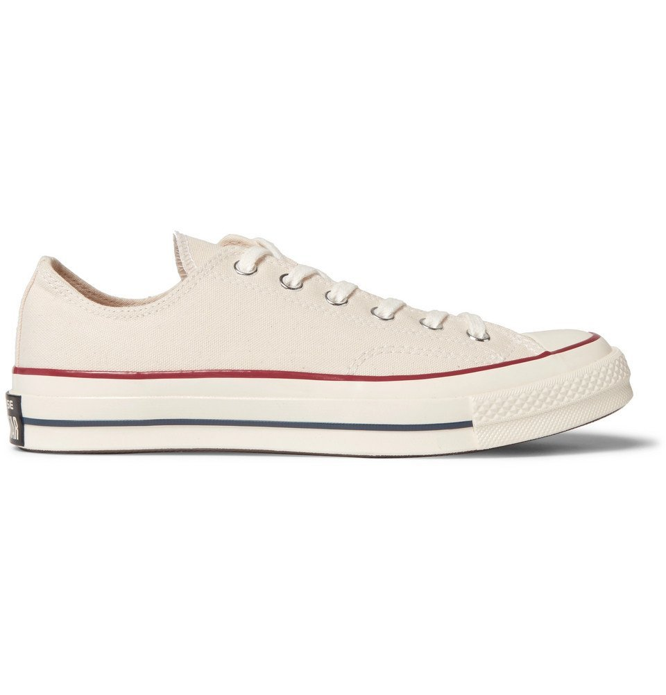 Photo: Converse - 1970s Chuck Taylor All Star Canvas Sneakers - Cream