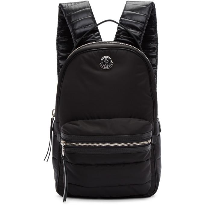Photo: Moncler Black Nylon Georgette Backpack