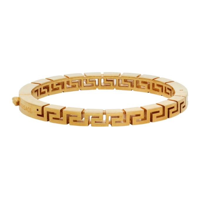 Photo: Versace Gold Greca Bracelet