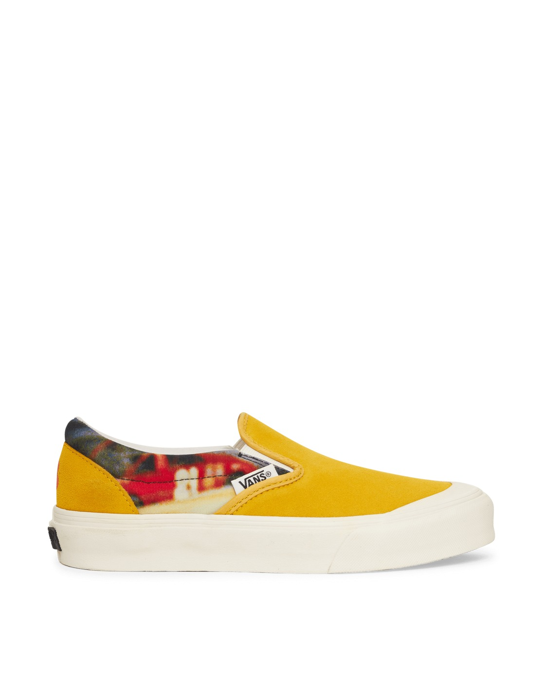 Photo: Vans Slam Jam X Julian Klincewicz Classic Slip On Lx Sneakers Yellow