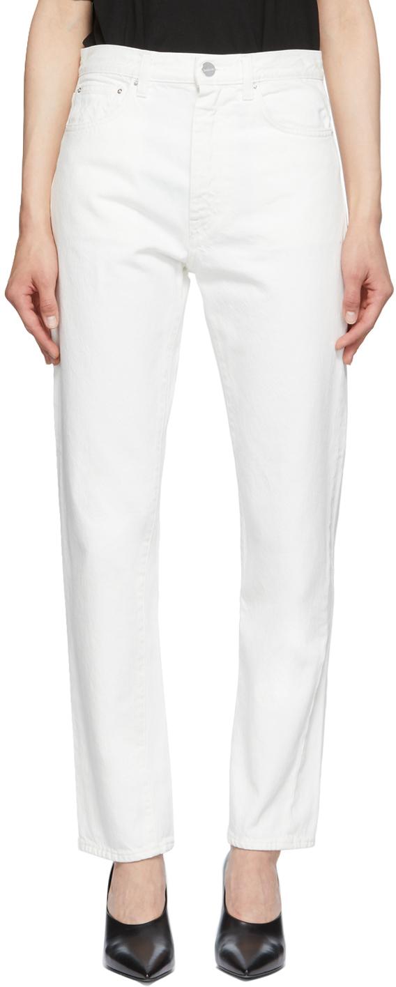 Photo: Totême Off-White Original Jeans