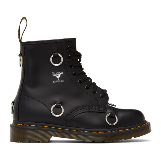 Photo: Raf Simons Black Dr. Martens Edition 1460 Boots