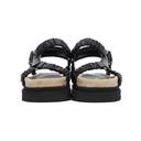 3.1 Phillip Lim Black Noa Platform Espadrille Sandals
