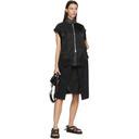 Sacai Black Hank Willis Thomas Edition Mid-Length Mix Skirt