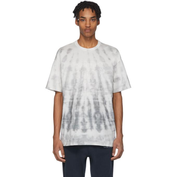 Photo: Ksubi Grey Tie-Dye Bring Back Life T-Shirt