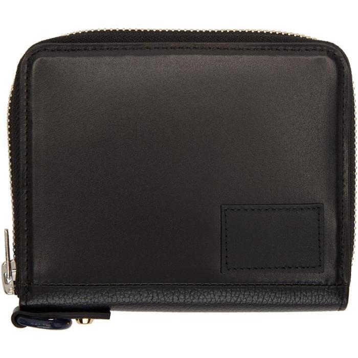 Sacai Black Medium Wallet
