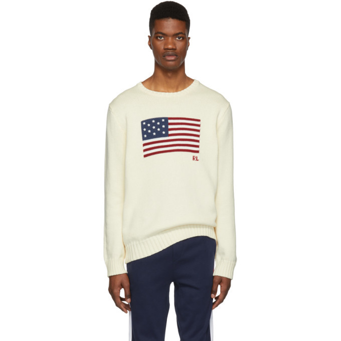 Photo: Polo Ralph Lauren Off-White Knit Icon Sweater