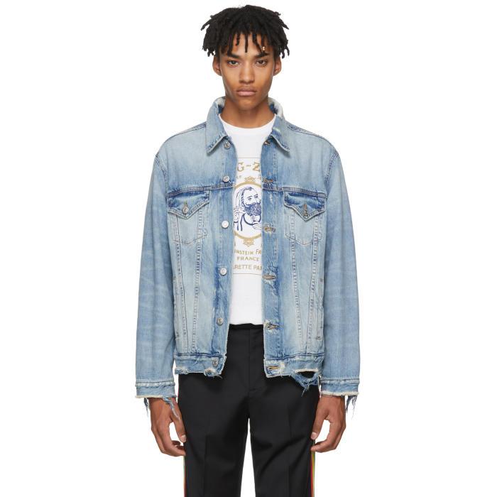 Photo: Adaptation Blue Oversized Denim Jacket