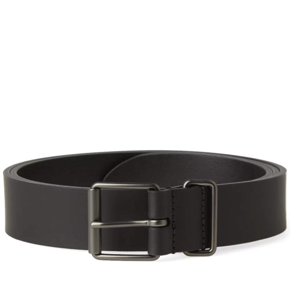 Photo: Anderson's Slim Rubberised Leather Belt Black