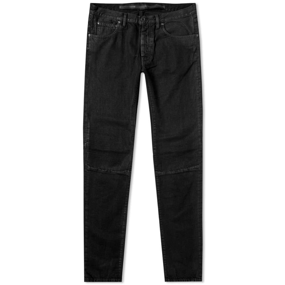 Photo: Unravel Project Waxed Skinny Jean