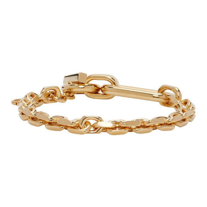 Photo: Bottega Veneta Gold Chain Bracelet