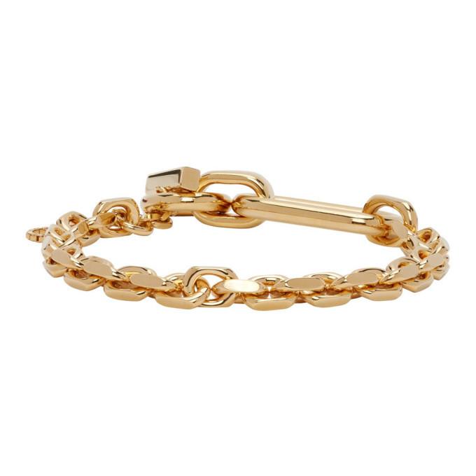 Photo: Bottega Veneta Gold Chain Bracelet