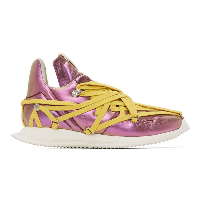 Photo: Rick Owens Pink Maximal Runner Sneakers