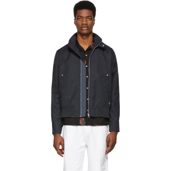 Photo: PS by Paul Smith Navy Harrington Jacket