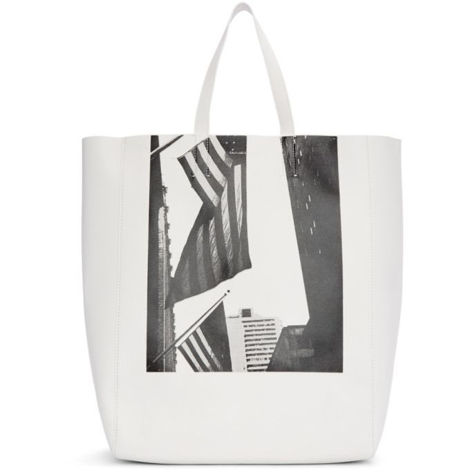 Photo: Calvin Klein 205W39NYC White Soft Andy Warhol Tote