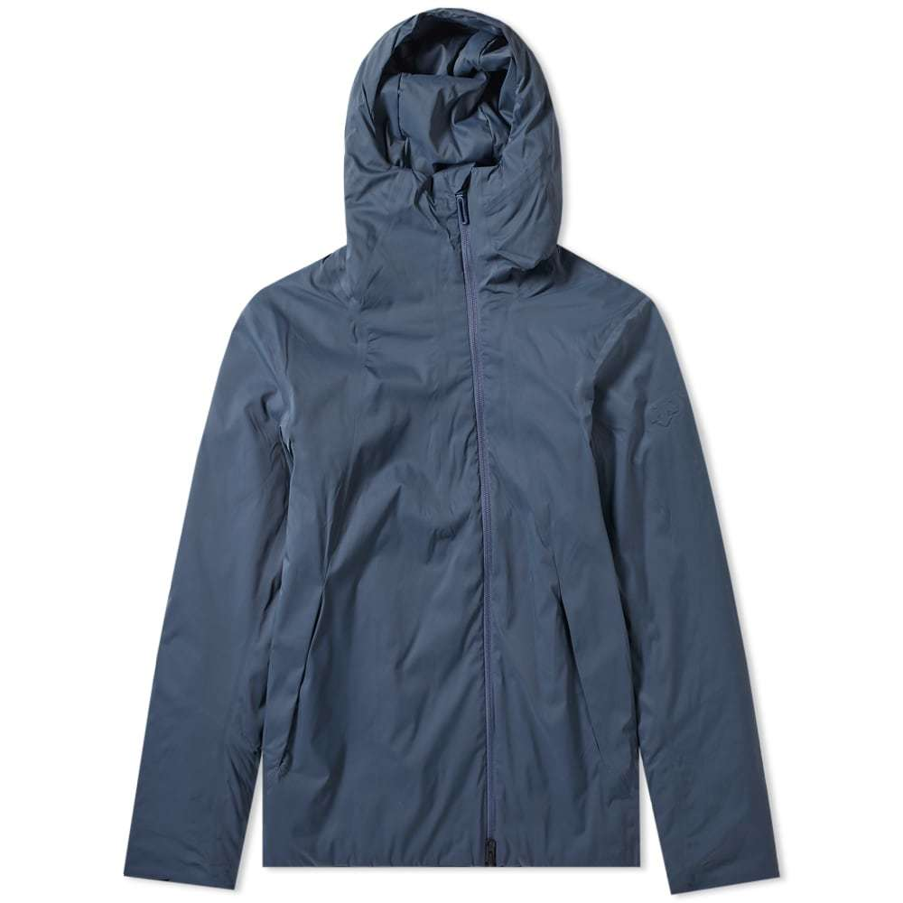 Photo: Descente Allterrain Perforated Insulation Hooded Jacket Slate Navy