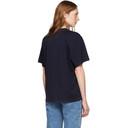 Stella McCartney Navy Happy Logo T-Shirt