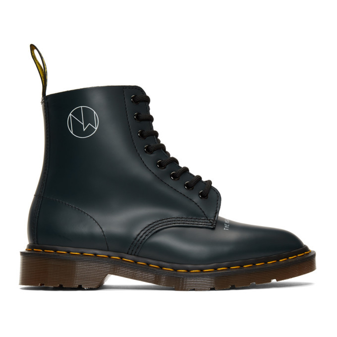 Photo: Undercover Navy Dr Martens Edition 1460 Boots