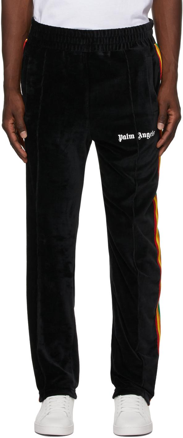 Photo: Palm Angels Rainbow Chenille Lounge Pants