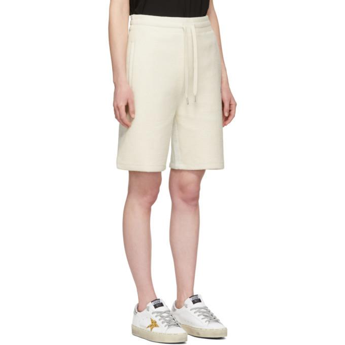 alexanderwang.t Grey Heavy Terry Basketball Shorts