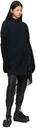 Sacai Black Knit Gloves