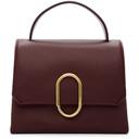 3.1 Phillip Lim Burgundy Mini Alix Top Handle Bag