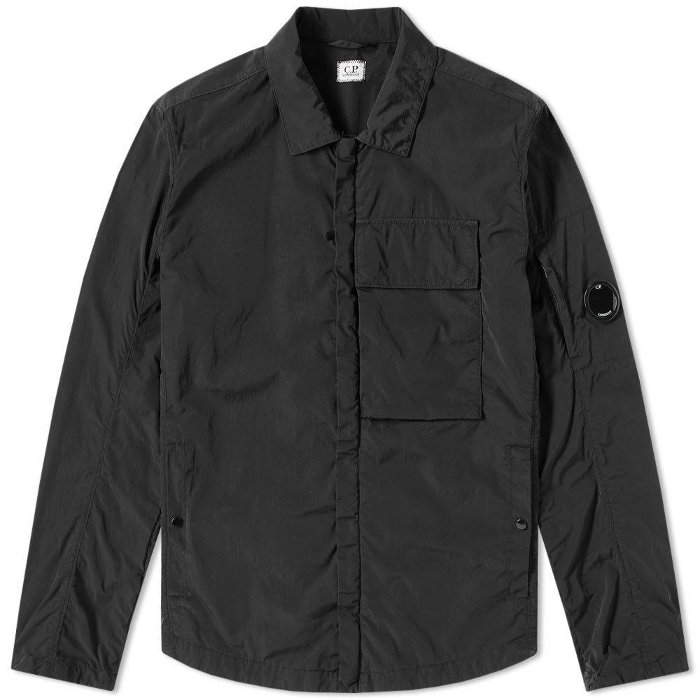 C.P. Company Chrome Arm Lens Shirt Jacket Black
