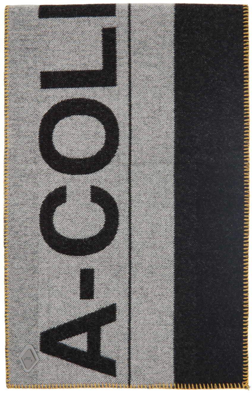 Photo: A-COLD-WALL* Large Logo Wool-Blend Scarf