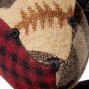 RRL - Patchwork Checked Wool Bear - Unknown