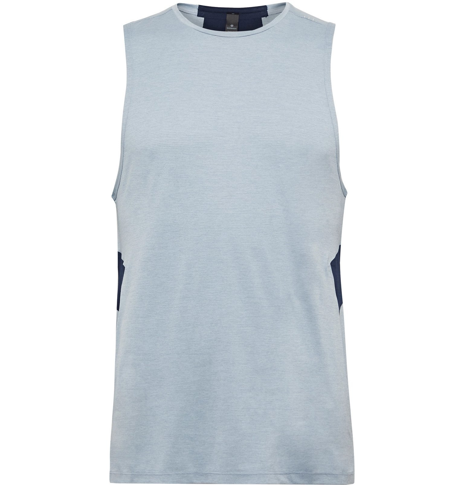 Photo: Lululemon - Fast and Free Breathe Light Mesh Tank Top - Blue