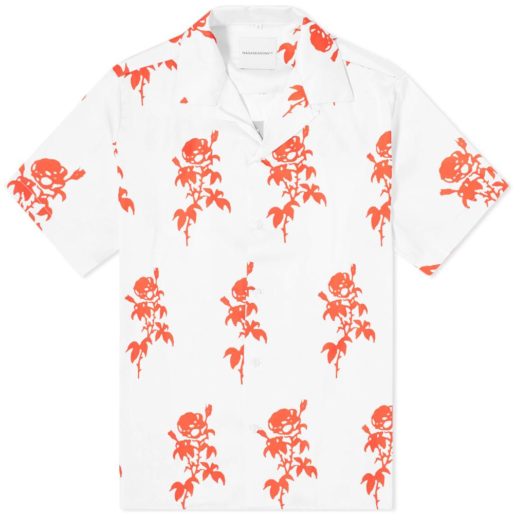 Photo: NASASEASONS Rose Print Vacation Shirt
