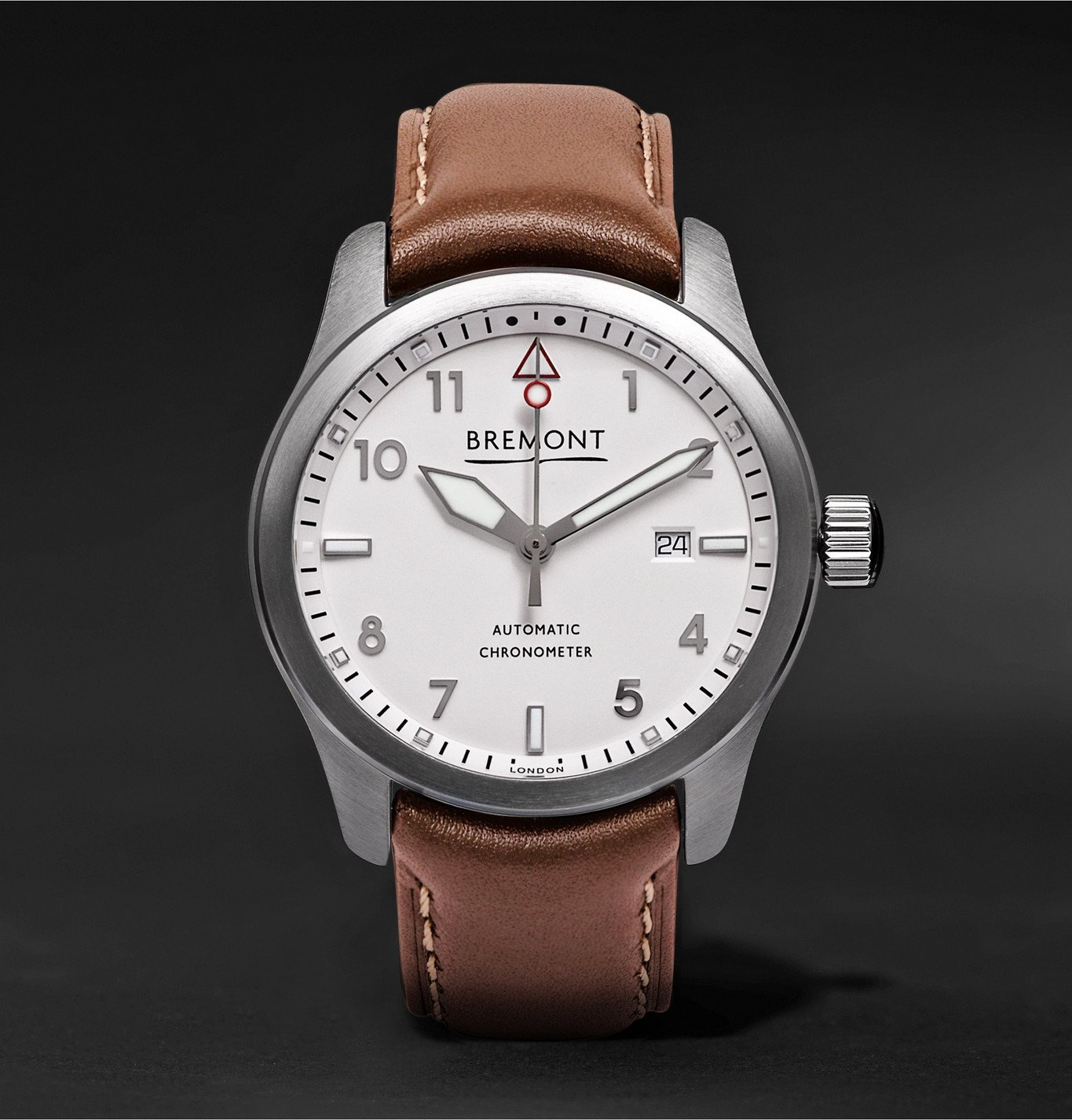 Photo: Bremont - SOLO/WH Automatic Watch - White