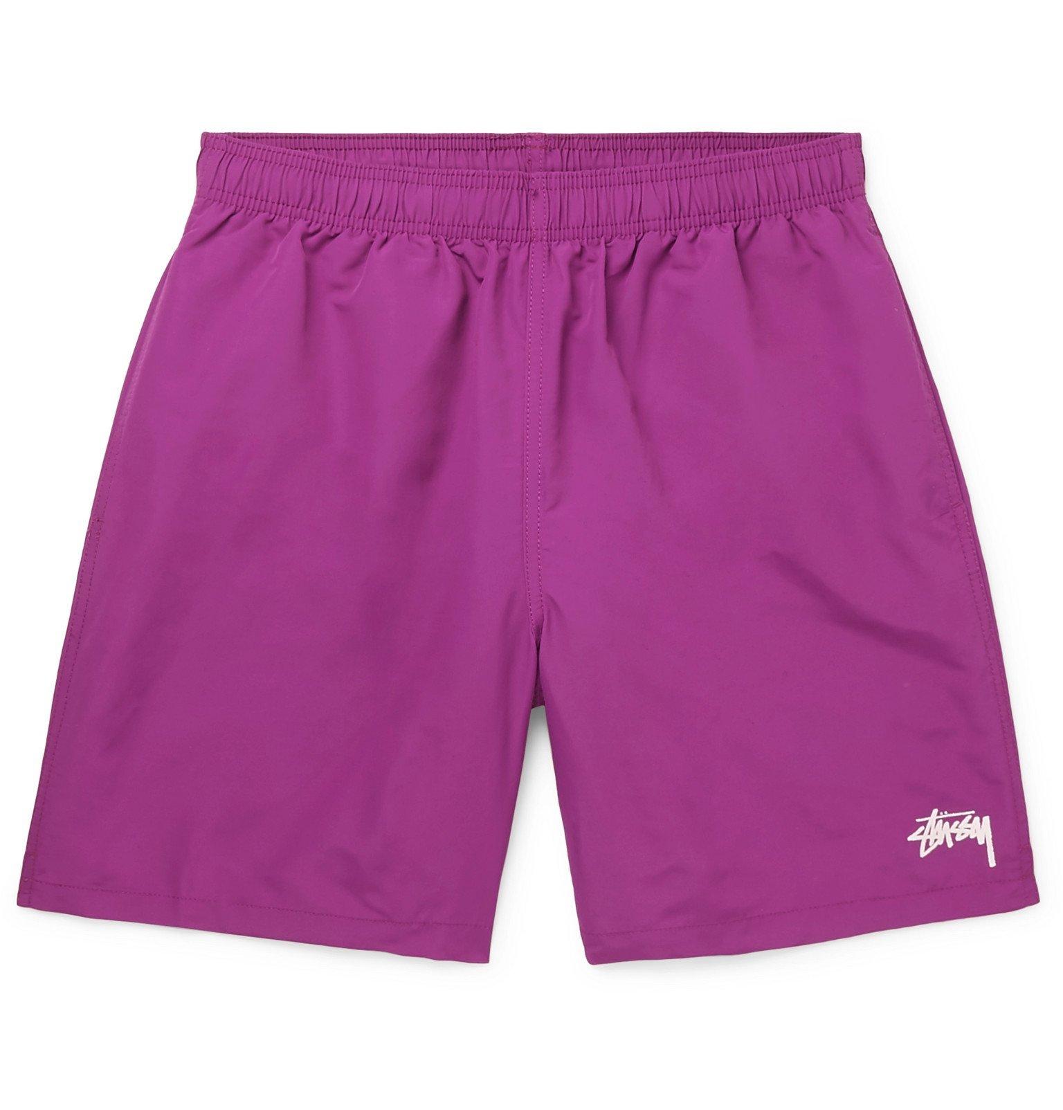 Photo: Stüssy - Shell Shorts - Purple