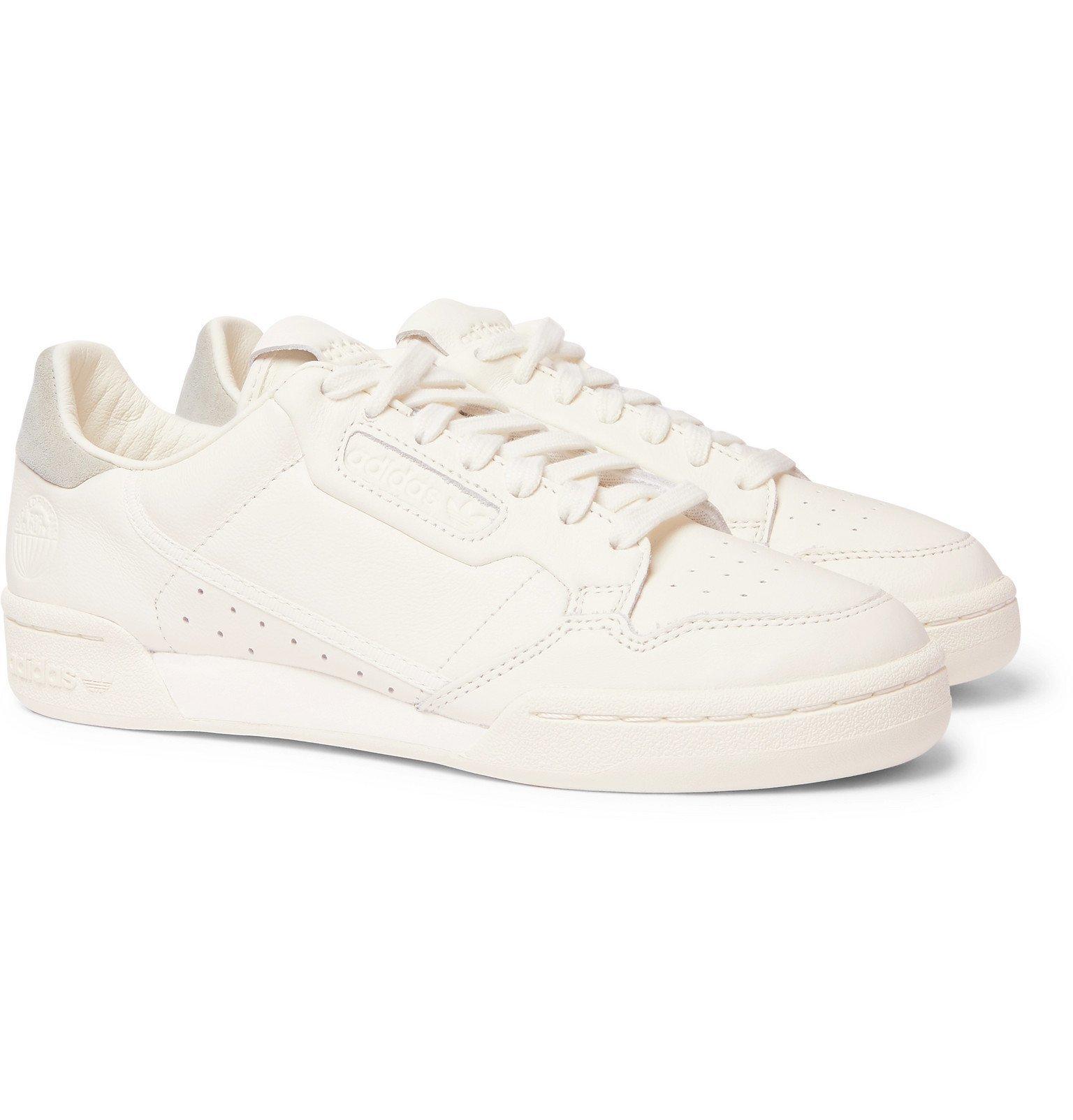 adidas Originals - Continental 80 Leather Sneakers - Neutrals