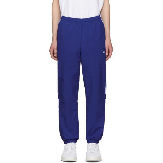 Photo: adidas Originals Blue Balanta Lounge Pants