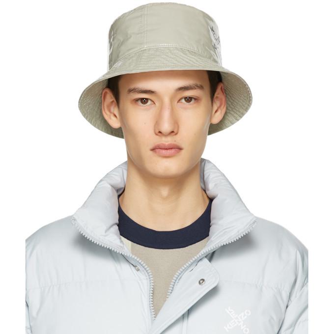 Photo: Kenzo Grey Sport Little X Bucket Hat