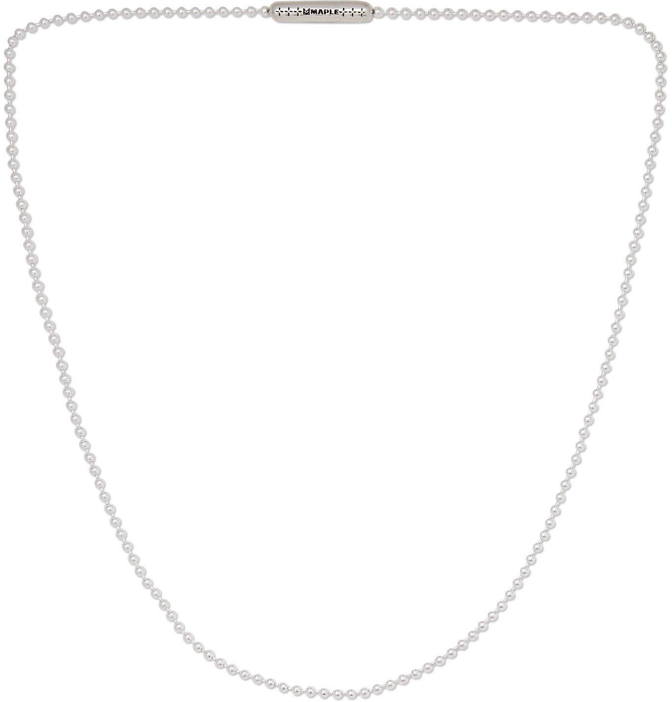 Photo: MAPLE - Silver Necklace - Silver